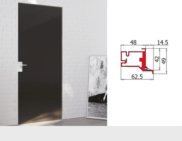 Aligned with Wall Frames and Doors with Aluminium Panel